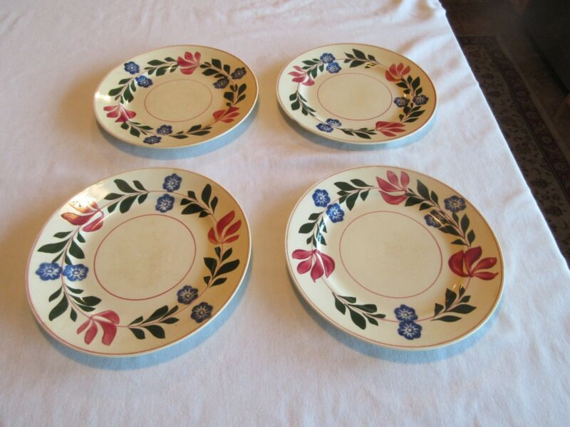 "adams titian ware plate 4 8"" plates no chips"