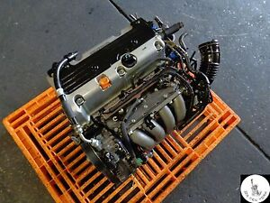 03 04 05 HONDA ACCORD 2.4L 4-CYLINDER VTEC ENGINE JDM K24A K24A4