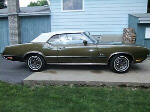 1972 oldsmobile cutlass convertible for sale