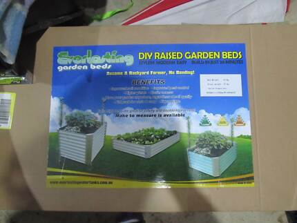 4 x Corrugated Iron Raised Garden Beds - brand new in box! Armidale City Preview