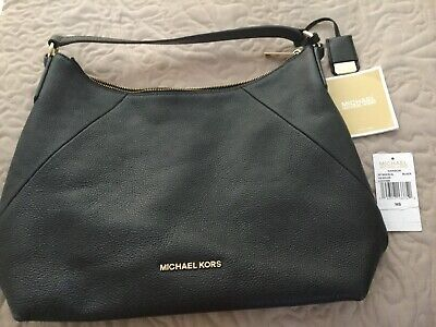 Michael Kors Shoulder Bag Black Leather- Immaculate