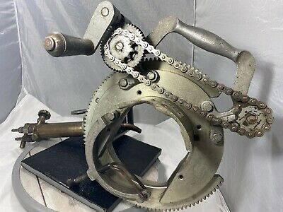 Mathey Dearman Model Msa 1.5 - 4 Pipe Beveler Beveling Machine W Torch
