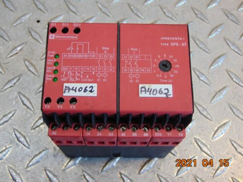 TELEMECANIQUE XPS-AT XPSAT5110 RELAY 24V **FREE SHIPPING**