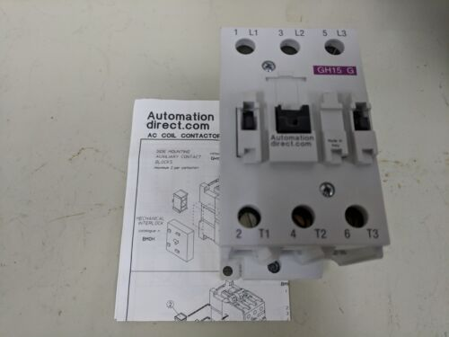 AUTOMATION DIRECT GH-15GT3-00A CONTACTOR (120V, 60HZ) *NEW IN BOX*