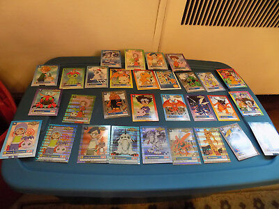Big Lot HOLOGRAPHIC Holo 1999 Bandai DIGIMON Cards Mimi Sora Joe Meramon + reg