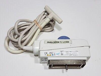 Hitachi Prosound Aloka Ust-5713t Linear Array 5-10 Ultrasound Transducer Probe