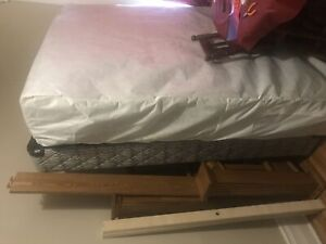 Box Spring, Mattress, Bed Frame (Queen)