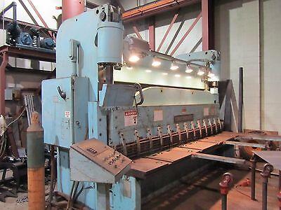 Cincinnati 12 X 34 Hydraulic Squaring Shear 6se12