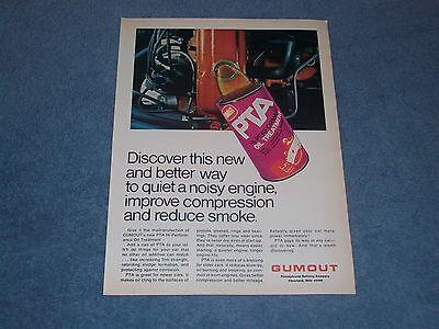 1971 Gumout PTA Engine Treatment Vintage Oil Ad