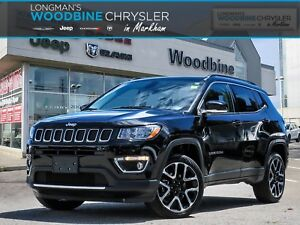 2017 Jeep Compass Limited/4X4/Pano Sunroof