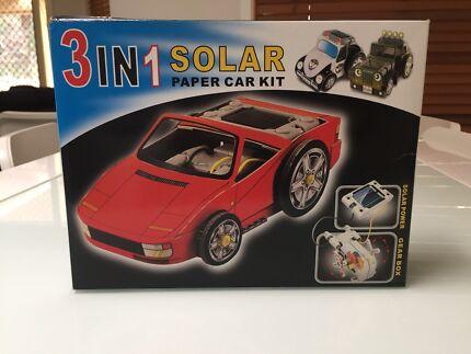 Solar Car Kits (Paper)
