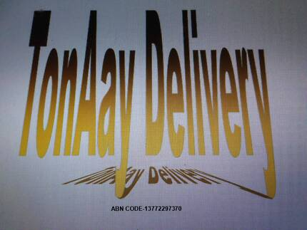 TonAay Delivery-we deliver anything but afterhours only@25 $ pp per hr