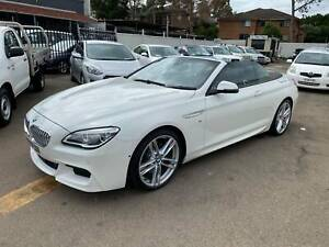 2015 BMW 6 50i Automatic Convertible ** LOW KMS ** Granville Parramatta Area Preview