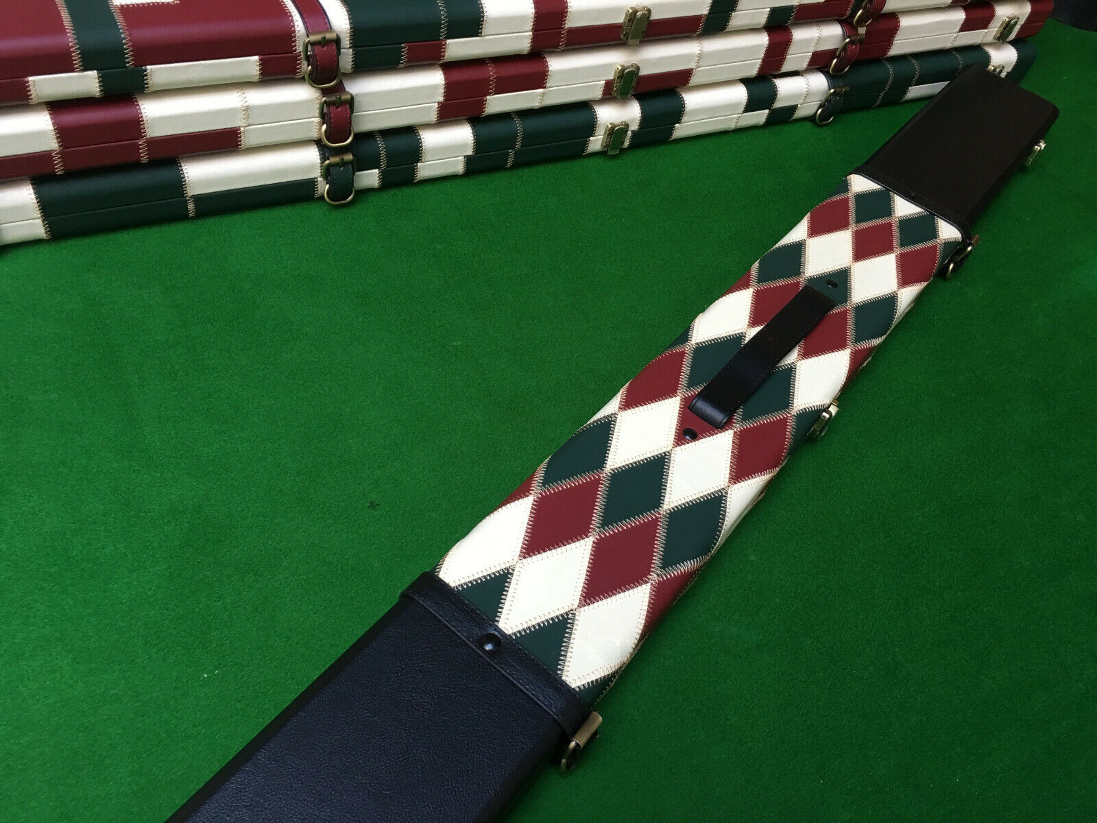 3/4 Wide 3 Section Snooker Cue case / Pool cue case