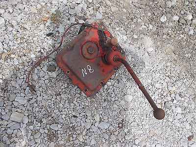 Ford 8n Tractor Main Transmission Gear Shifter Shift Tower Starter Button