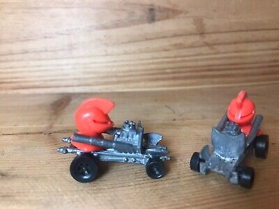 2 Hot Wheels ZOWEES Good Knight REDLINE Era, HOTROD, Vintage, RARE! 70's