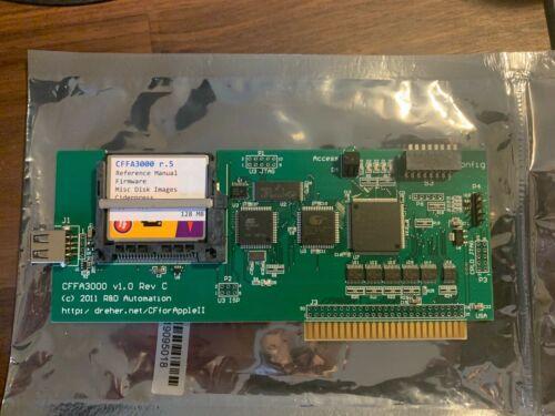 CFFA 3000 for Apple II computer series (II, II+, IIe, IIGS)