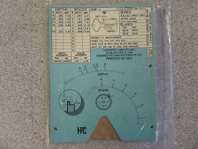 Hpc Cf101 Amcchryslerrenault Secondary Auto Key Code Machine Code Card