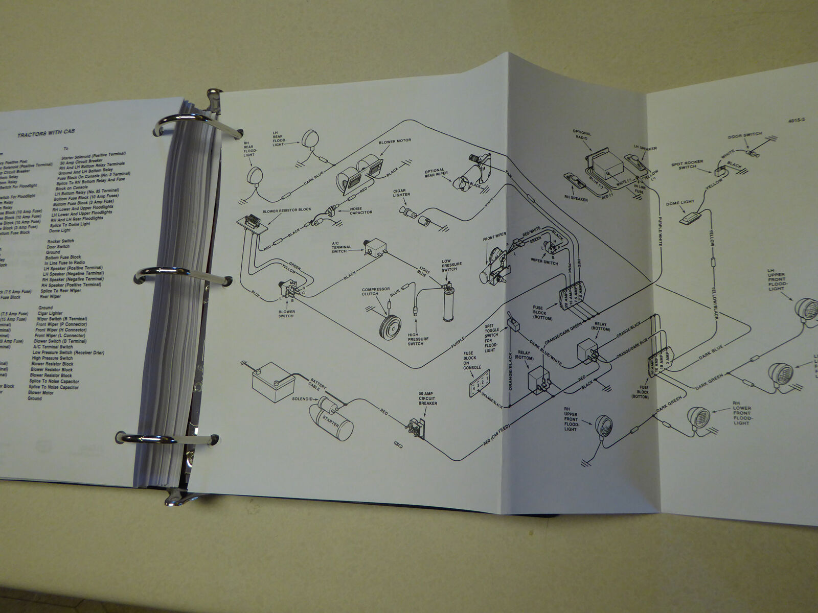 Case 1490 1494 1594 1690 Tractor Service Manual Repair Shop Book New 430 Ck Wiring Diagram 7 Of 12 With 8