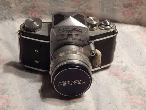 Exakta VX Ihagee Dresden Camera with f2 58mm Biotar lens