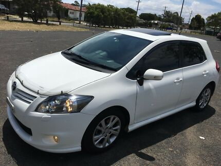 Toyota Corolla 2010  levin zr sunroof push start long rego