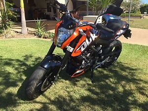 KTM Duke 200 low low Kms Thuringowa Central Townsville Surrounds Preview