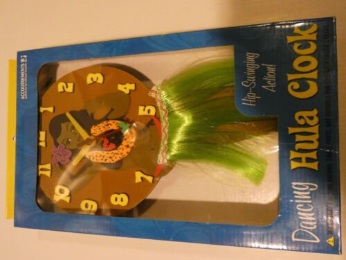 Accoutrements Dancing Hula Clock, Unused