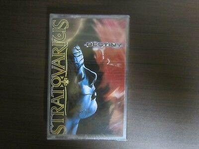 STRATOVARIUS / DESTINY, 1998 RARE ORIG KOREA SEALED CASSETTE TAPE