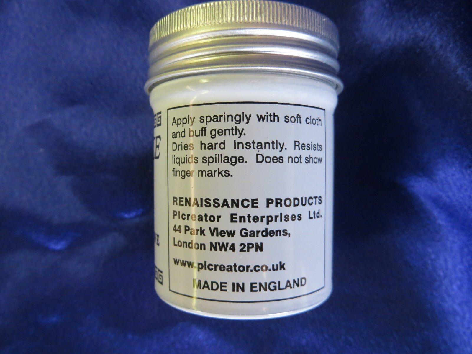 Renaissance Wax - Micro-Crystalline Wax Polish - 65ml (2.25oz) Can