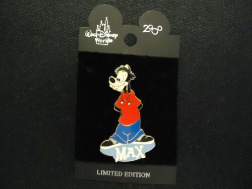 DISNEY WDW CANINE SERIES MAX GOOF TROOP PIN LE 5000 ON CARD
