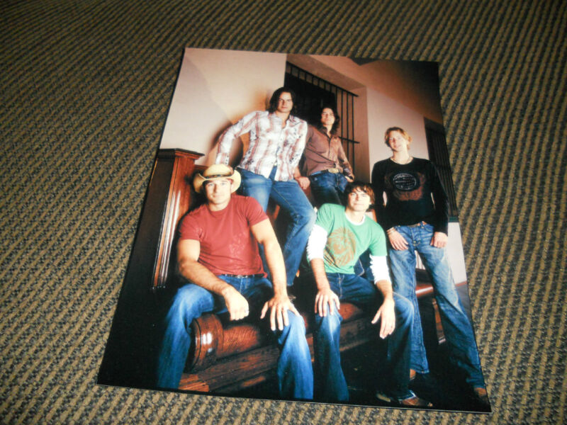 Lost Trailers Band Sexy Country Music Promo Color 8x10 Photo #2