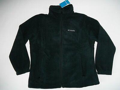 COLUMBIA SPORTSWEAR Black MOUNT CANNON Fleece JACKET Plus Womens Size 1X NEW Womens Plus Columbia Sportswear