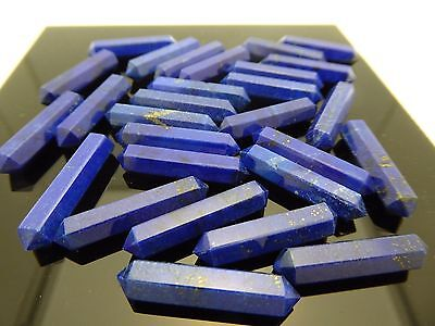 Natural High Quality Lapis Lazuli Double Terminated Point Gemstone Healing 1pc