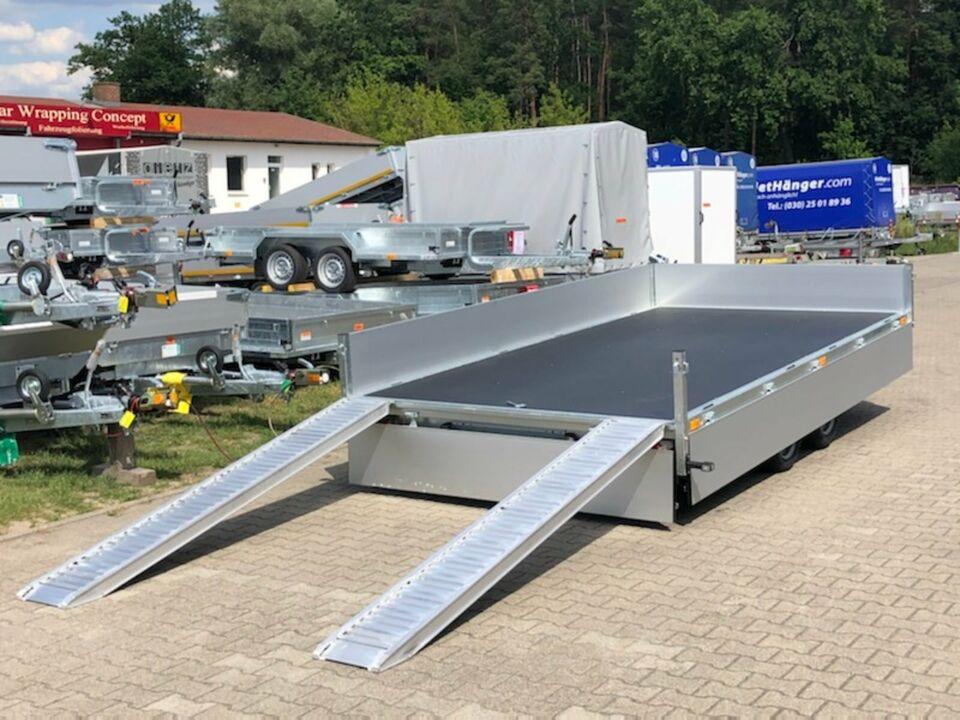 Anhänger⭐Saris Transporter PL 406 204 3500 kg 35cm Rampenschacht in Schöneiche bei Berlin