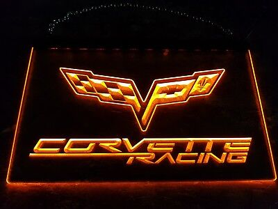 Corvette LED-Schild. Orange