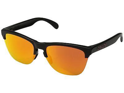 Oakley Frogskins Light OO9374-04 Sunglasses Matte Black Prizm Ruby Lens 9374 (04 Matte)