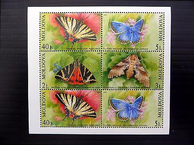 MOLDOVA 2003 Butterflies M/Sheet MS459 U/M FP9625