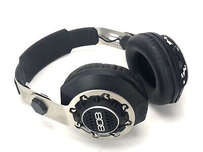 808 PERFORMER BT - Wireless + Wired Over-Ear Headphones - Black- TESTED & WORKS!