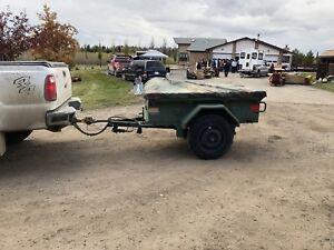 M101  military trailer overlander trailer