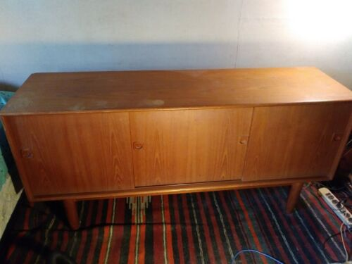 Mid Century danish Cabinet Sideboard with adjustable shelf