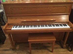 Samick Oak Piano!  BACK TO LESSONS SALE! Now On!