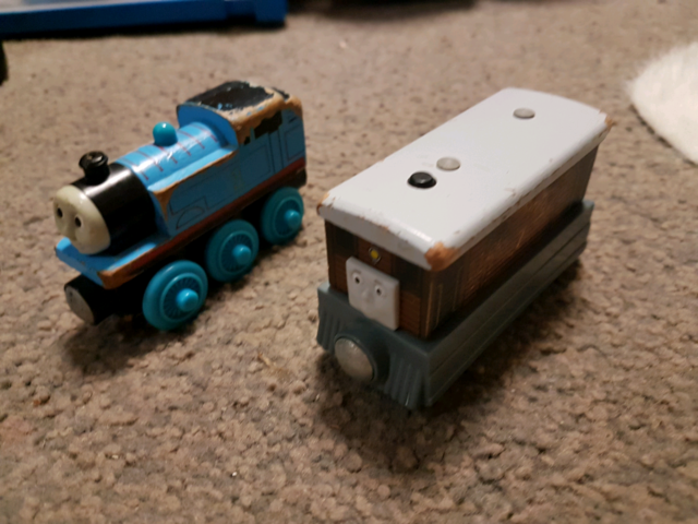 Thomas the tank engine trains and track | Toys - Indoor | Gumtree ...