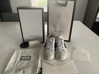 Womans Gucci Trainers Size 37/ Uk 4