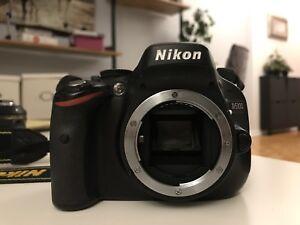 Nikon D5100 camera body