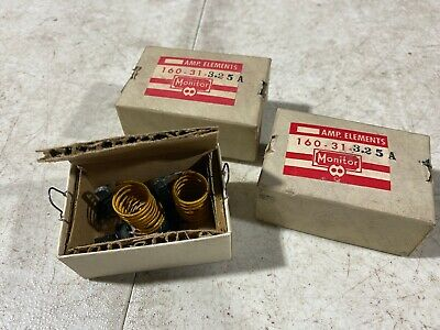 Lot Of Four Monitor Products Size 10 Heater Elements Magnetic 160-31-3.25a Nos