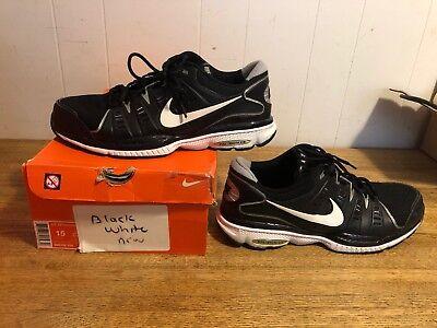 Men s Nike Air Pegasus+ Size 15 Worn Once Black White Full Length Air c3787f636