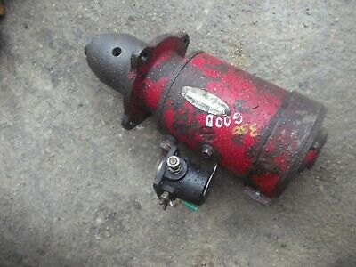 Farmall 300 350 Tractor Good Engine Motor 12v Starter Assembly Ih