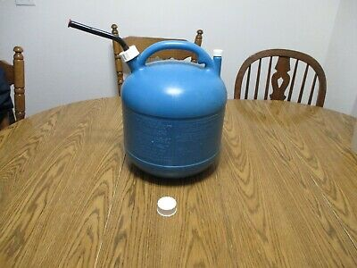 Vintage Eagle 5 Gal Gallon Vented Kerosine Kerosene Gas Can Fuel Jug Kp-5
