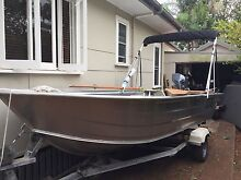 4.5m aluminium smartliner dinghy 40 Hp electric start Yamaha Woody Point Redcliffe Area Preview