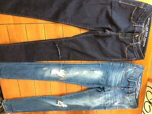 Jeans stitches small